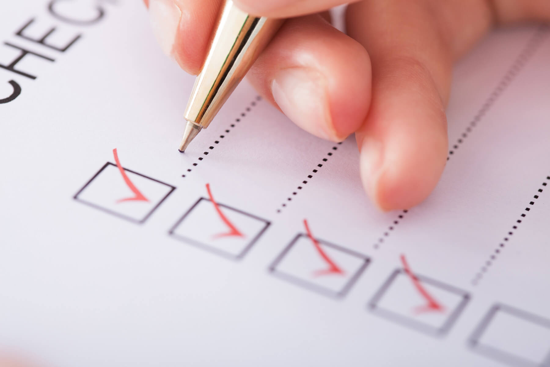 IP Camera Dealers Checklist