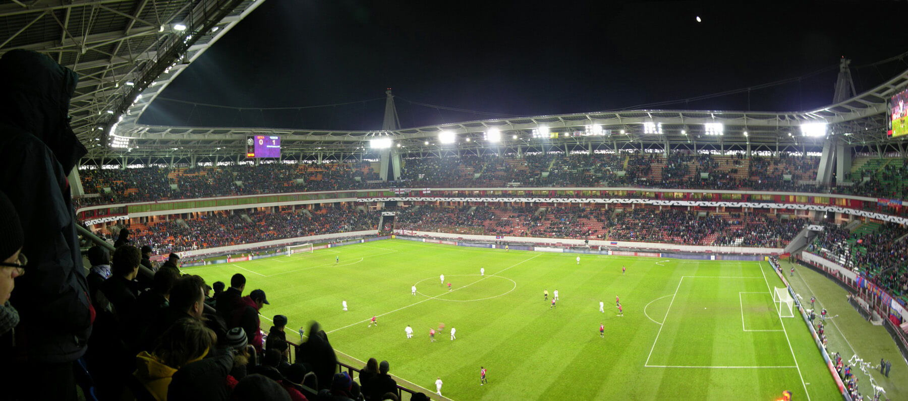 Stadium Lighting Surge Protection