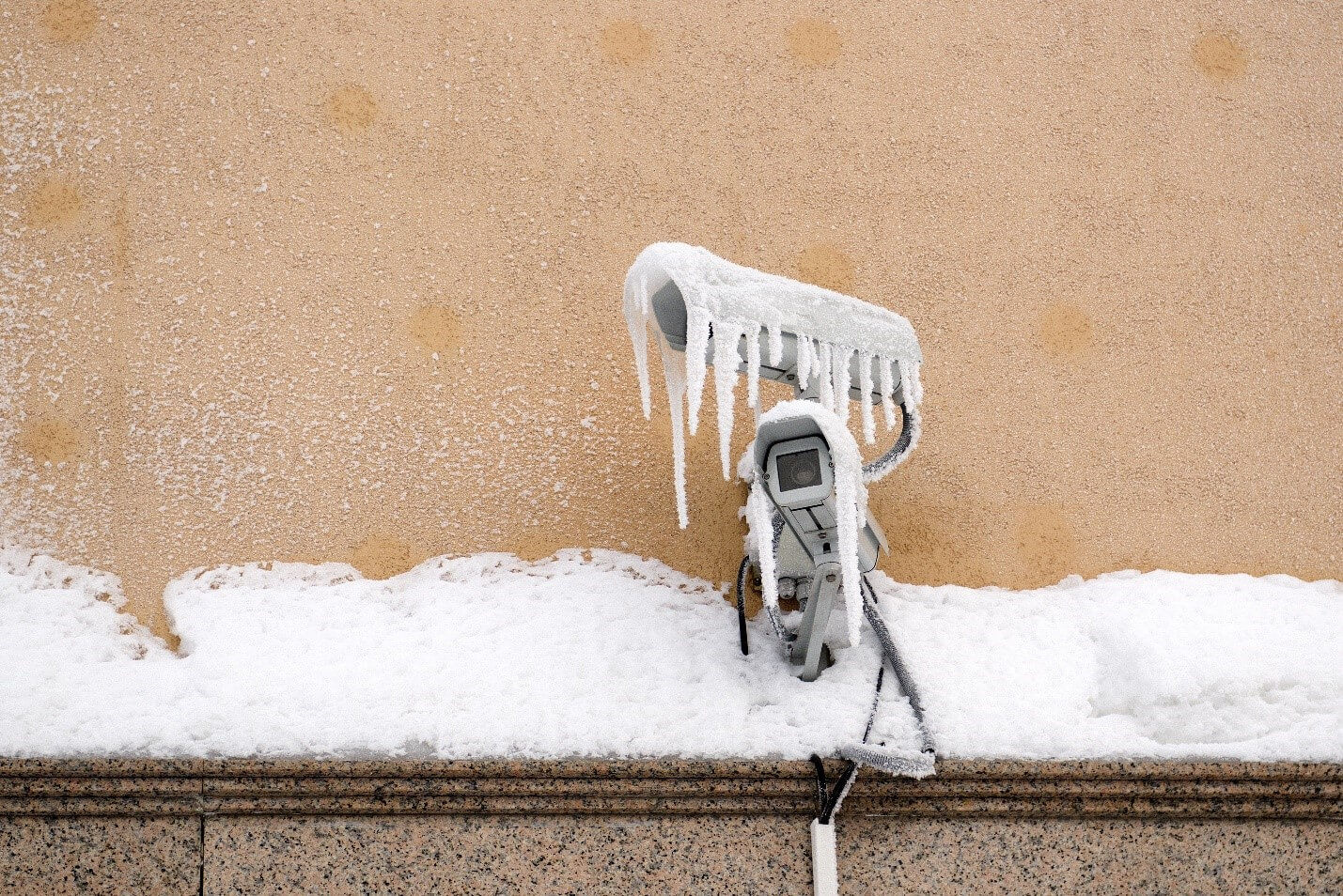 Tips for protecting security products during inclement weather