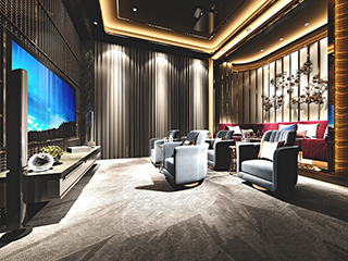 High-Fidelity Theater Room