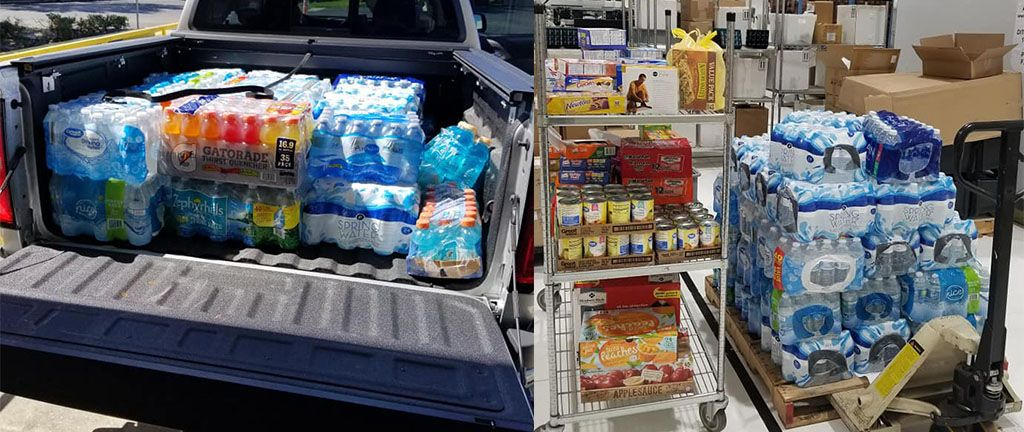 DITEK Employee's Donate to Hurricane Relief