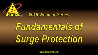 2016 Fundamentals of Surge Protection