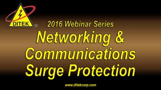 2016 Networking Communications Surge Protection