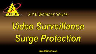 2016 Video Surveillance Surge Protection